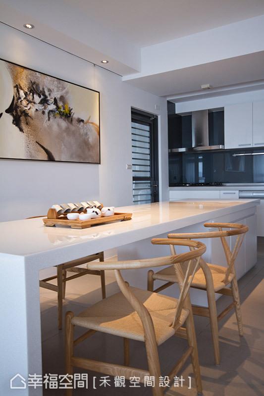二居 北欧 简约 厨房图片来自幸福空间在纯净无瑕 172平零压感自然美宅的分享