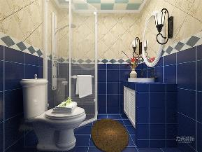 地中海 一居 80后 小资 收纳 白领 简约 卫生间图片来自阳光rime-晓璐在力天装饰-建邦时代汇-地中海-61的分享
