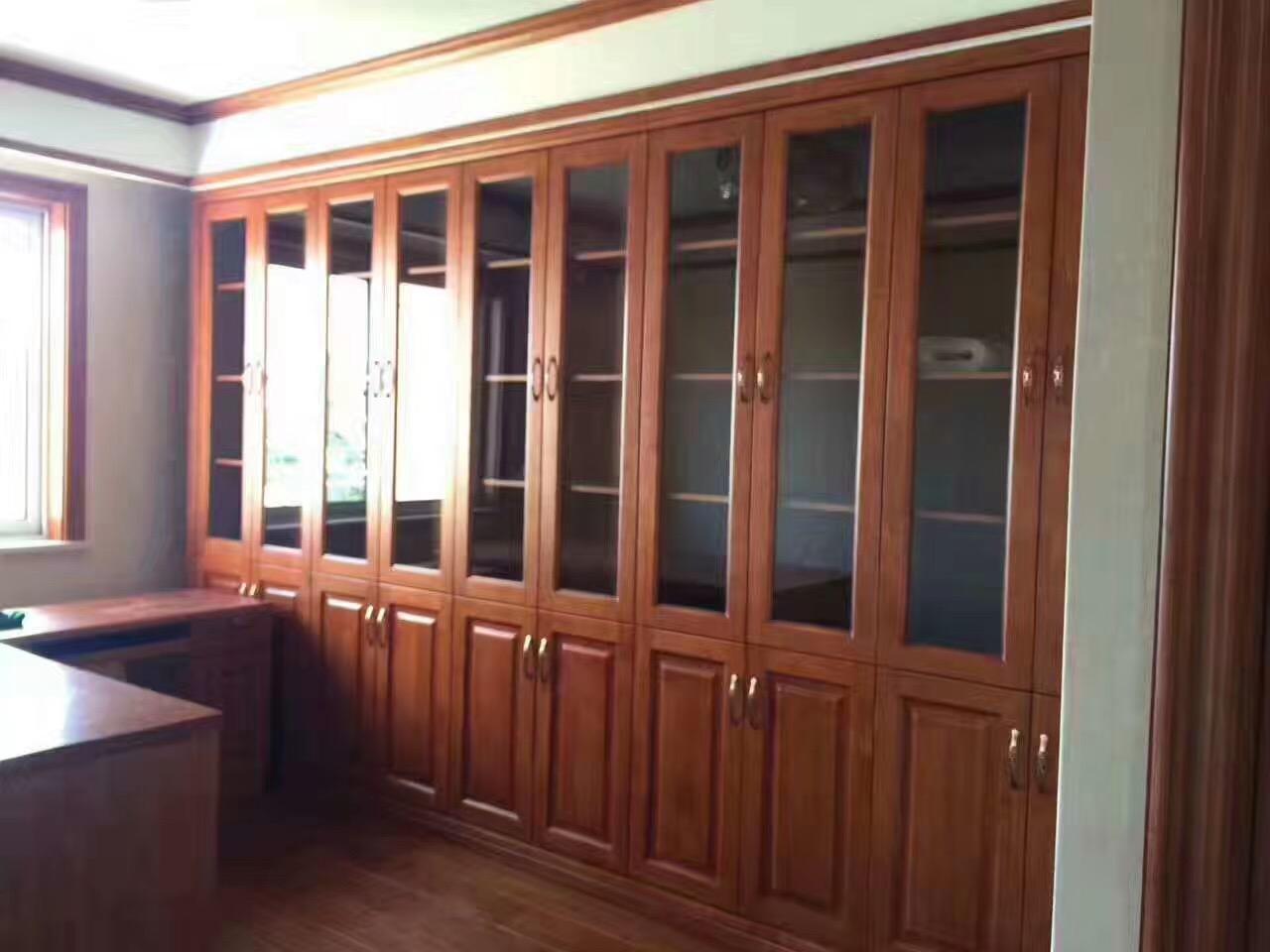 中式设计 中式装修 日升装饰 家具定制 书房图片来自装修设计芳芳在第四军医大木作的分享