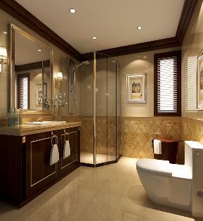 托斯卡纳 二局 小资 高富帅 80后 白领 卫生间图片来自重庆高度国际装饰工程有限公司在领袖慧谷-托斯卡纳的分享