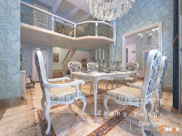 欧式风格—雍容华贵的装饰效果
