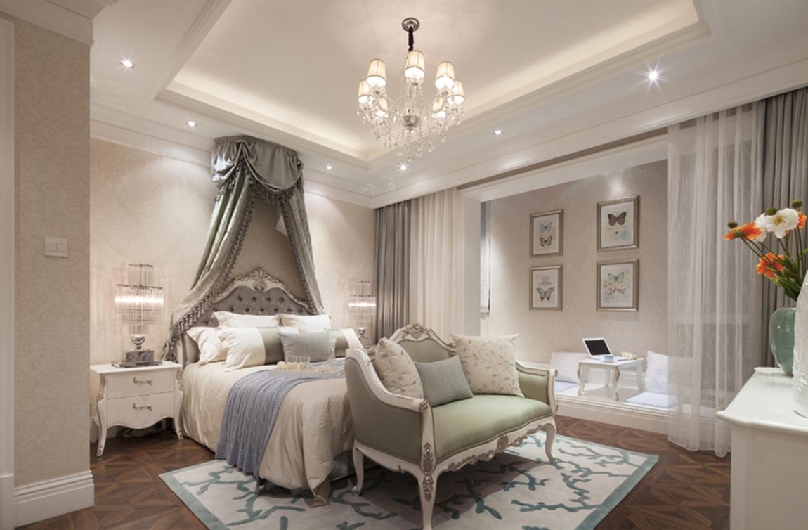 北欧 珠江逸景 别墅 卧室图片来自成都生活家装饰徐洋在珠江逸景花园260㎡北欧风格的分享