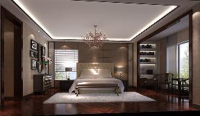 港式 白富美 高富帅 别墅 高度国际 卧室图片来自重庆高度国际装饰工程有限公司在西山壹号院-港式风格的分享
