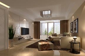 现代 三居 白富美 高富帅 80后 小资 装修 高度国际 客厅图片来自重庆高度国际装饰工程有限公司在金隅翡丽-现代风格的分享