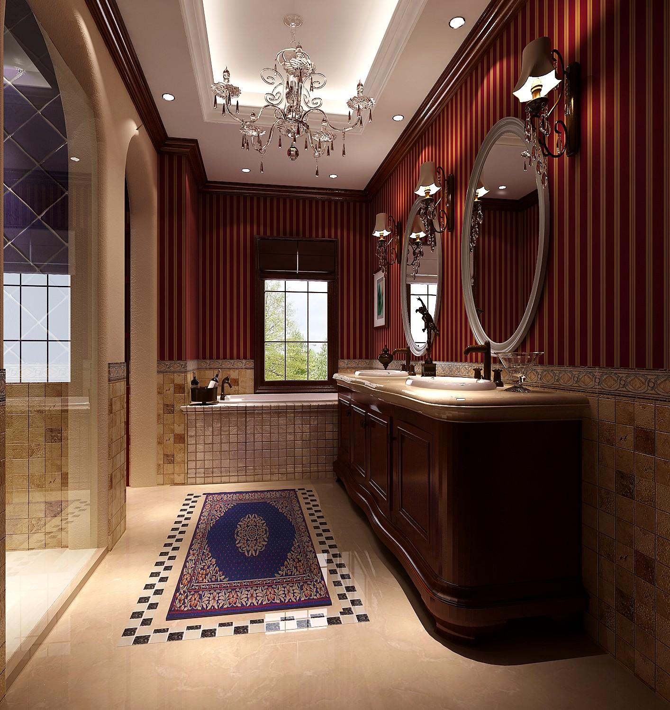 托斯卡纳 别墅 小资 白富美 高度国际 卫生间图片来自重庆高度国际装饰工程有限公司在蔚蓝香醍-托斯卡纳的分享