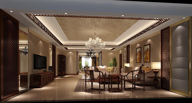 港式 白富美 高富帅 别墅 高度国际 客厅图片来自重庆高度国际装饰工程有限公司在西山壹号院-港式风格的分享