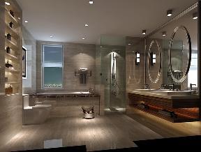 三居 简约 精致 个性 独特 完美 格调 舒适 实用 卫生间图片来自重庆高度国际装饰工程有限公司在金隅翡丽-简约风格的分享