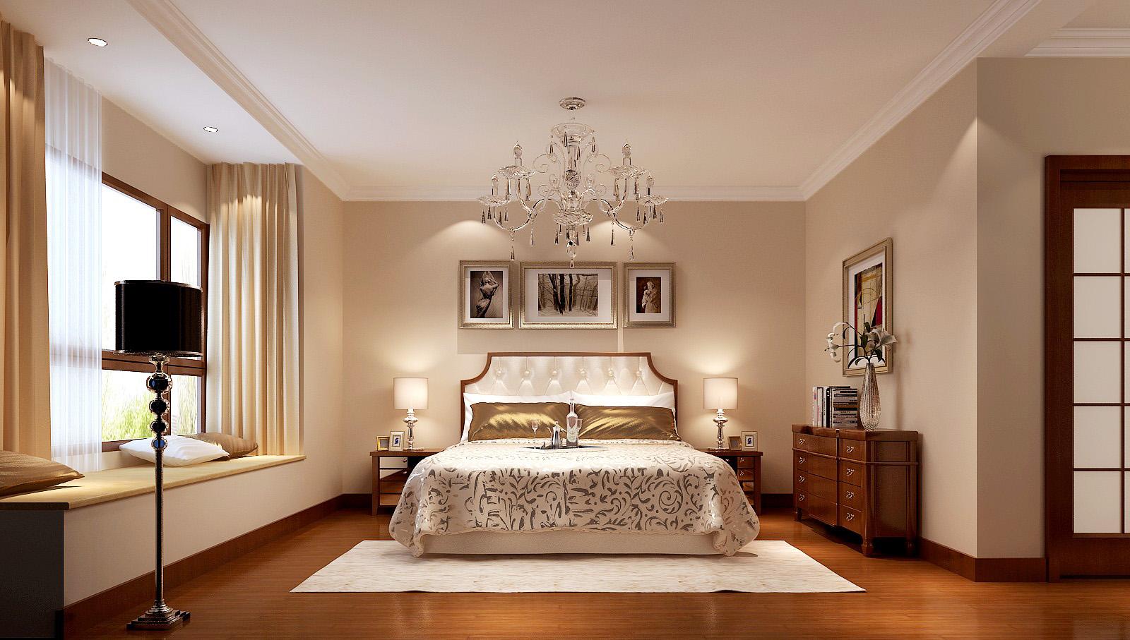 简约 欧式 公寓 高度国际 高富帅 卧室图片来自重庆高度国际装饰工程有限公司在香悦四季-简欧风格的分享
