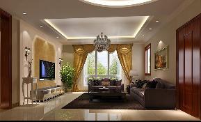 简约 欧式 三居 豪华 优雅 和谐 舒适 浪漫 情调 客厅图片来自重庆高度国际装饰工程有限公司在金谷香郡-简欧风的分享