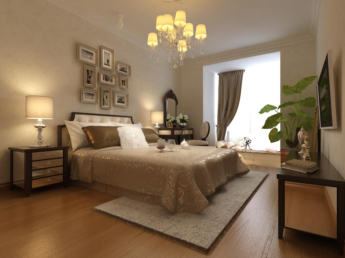 简约 欧式 三居 豪华 优雅 和谐 舒适 浪漫 情调 卧室图片来自重庆高度国际装饰工程有限公司在金谷香郡-简欧风的分享