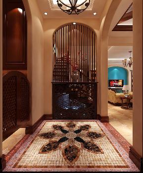 意式 温馨 情调 浪漫 古典 优雅 舒适 玄关图片来自重庆高度国际装饰工程有限公司在鲁能七号院-意式风格的分享