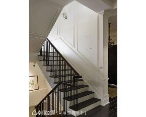 美式 别墅 样板间 楼梯图片来自幸福空间在优雅闲适生活 594平大器欧美宅邸的分享