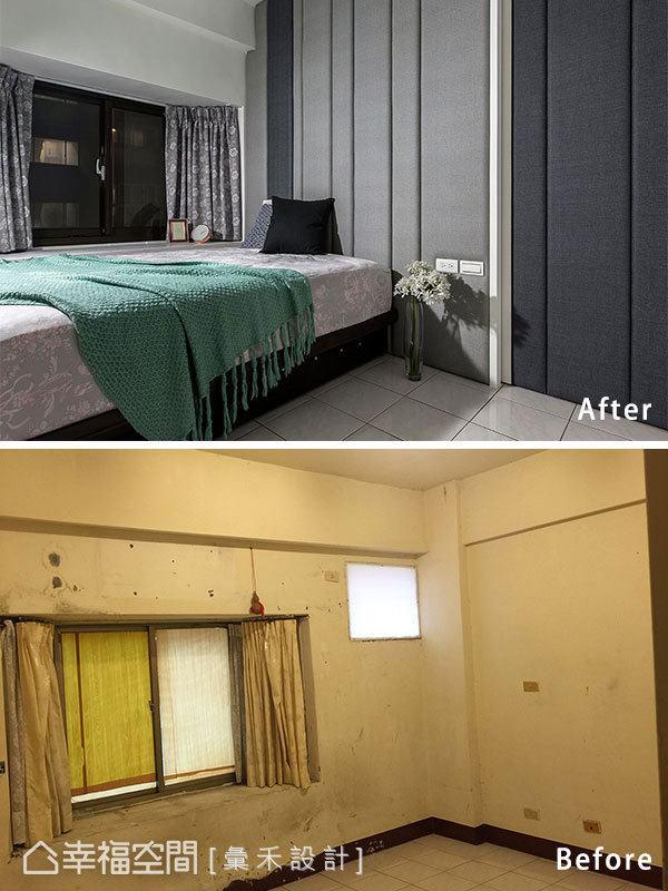 二居 现代 卧室图片来自幸福空间在空间极限利用 66平小宅变身术的分享