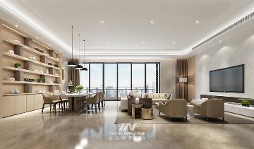 深圳香山美墅豪宅设计--现代时尚