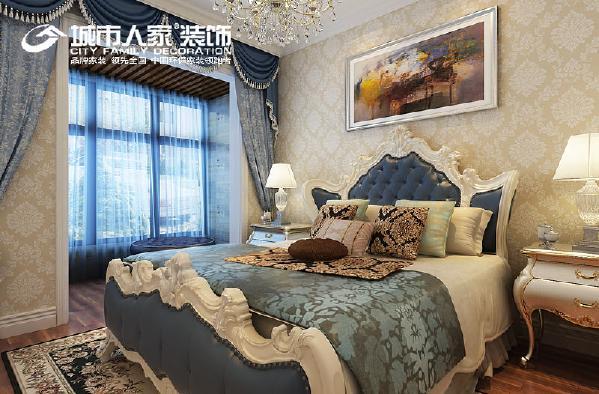 卧室设计 采用更为明快清新的颜色,演绎着现代生活的休闲与舒适