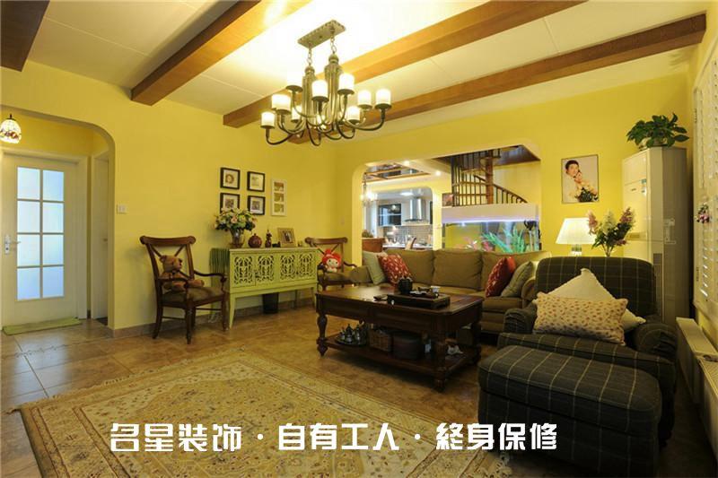 欧式 二居 客厅图片来自名星装饰在龙阳时代的分享