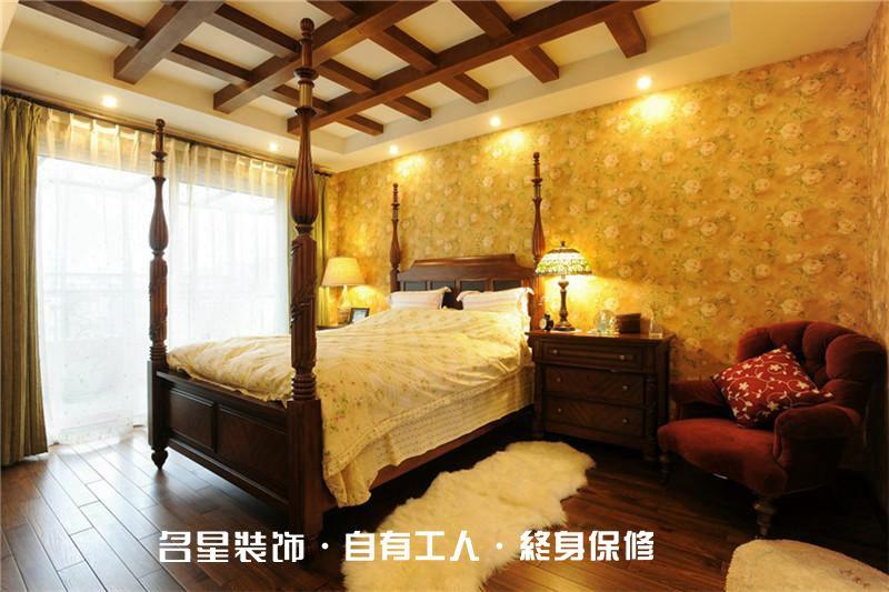 欧式 二居 卧室图片来自名星装饰在龙阳时代的分享