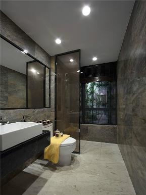 简约 现代 三居 小资 80后 大户型 卫生间图片来自高度国际姚吉智在136平米现代简约黑白永恒经典的分享