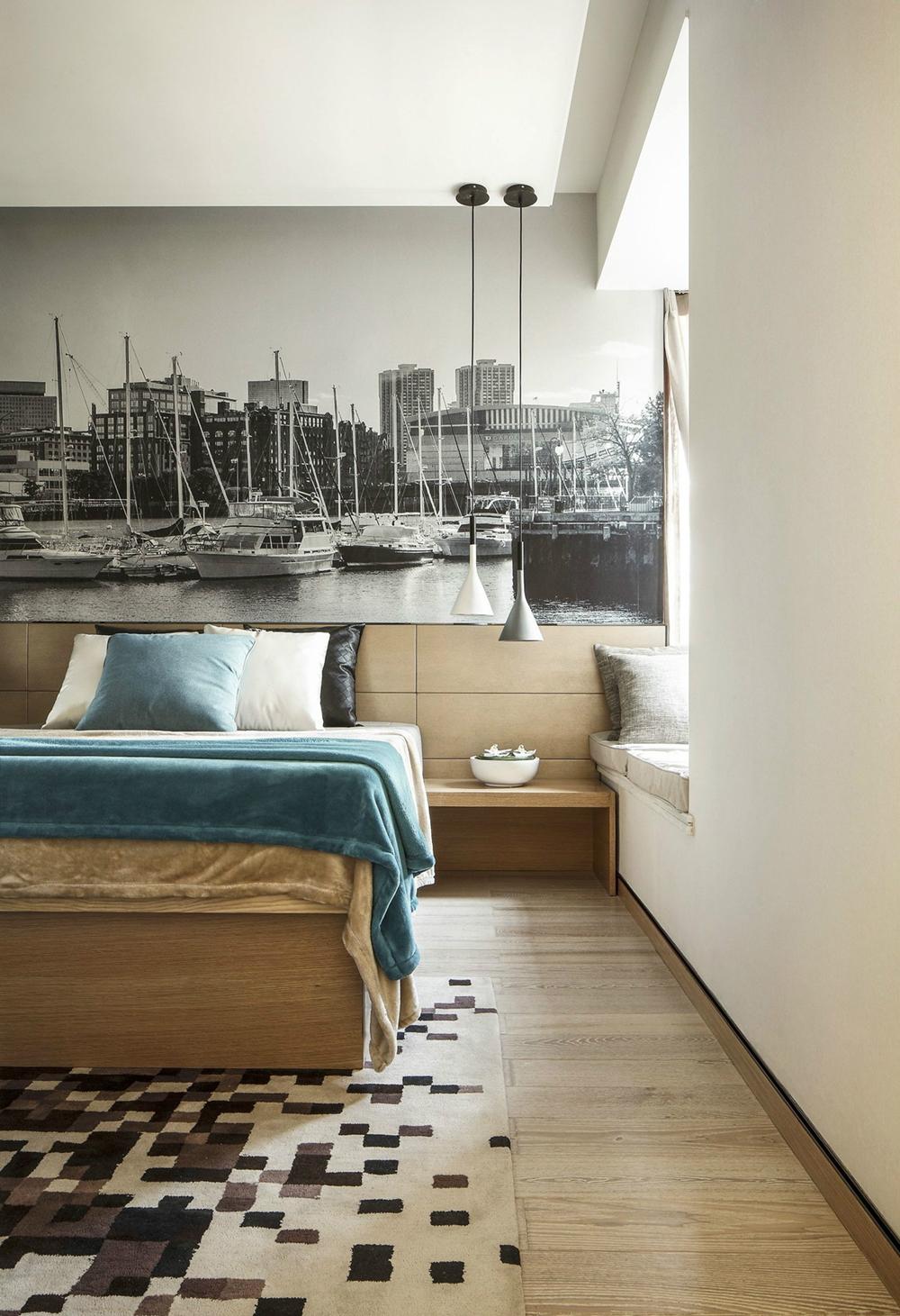 三居 白领 80后 小资 凯德世纪 世纪名邸 卧室图片来自成都生活家装饰徐洋在凯德世纪名邸110㎡法式风格实拍的分享