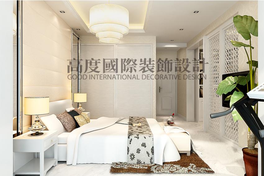 简约 三居 80后 卧室图片来自天津高度国际小静在天津装饰设计~简欧风格的分享