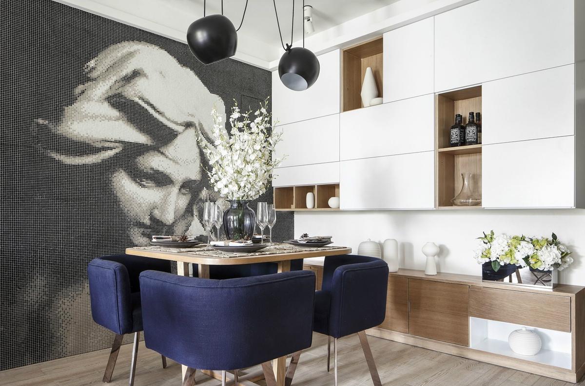三居 白领 80后 小资 凯德世纪 世纪名邸 餐厅图片来自成都生活家装饰徐洋在凯德世纪名邸110㎡法式风格实拍的分享