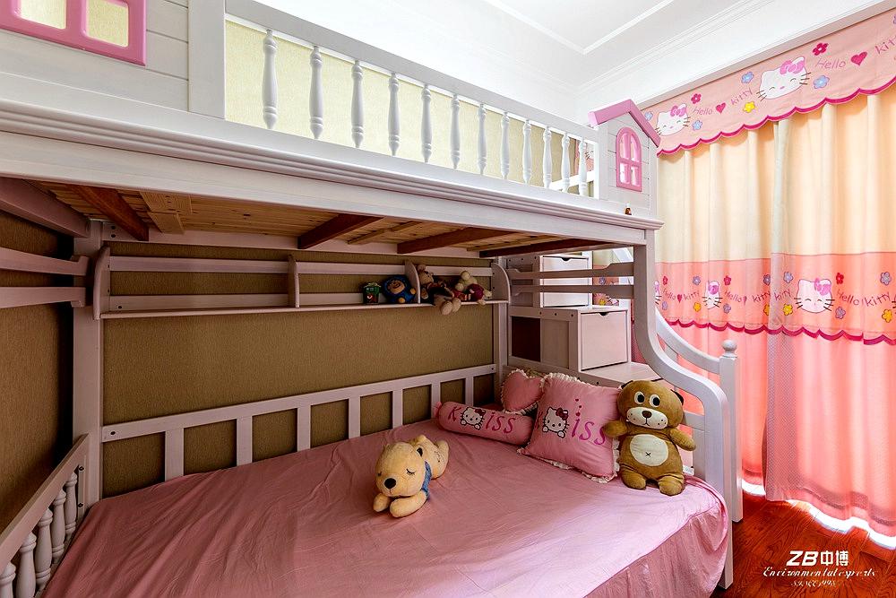 欧式 三居 白领 收纳 小资 中博装饰 儿童房图片来自中博装饰在华瑞晴庐110方欧式舒适居家的分享