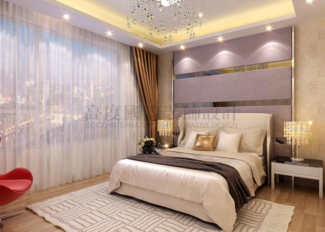 卧室图片来自天津高度国际小静在高度设计~远洋万和城的分享