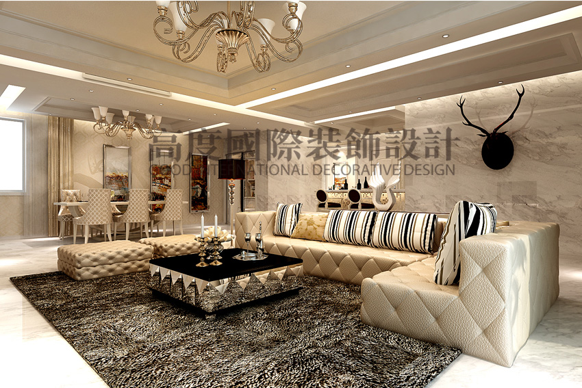 简约 三居 80后 客厅图片来自天津高度国际小静在天津装饰设计~简欧风格的分享
