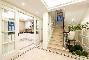 欧式 别墅 小资 收纳 楼梯图片来自中博装饰在大奇山郡400方欧式古典风格的分享