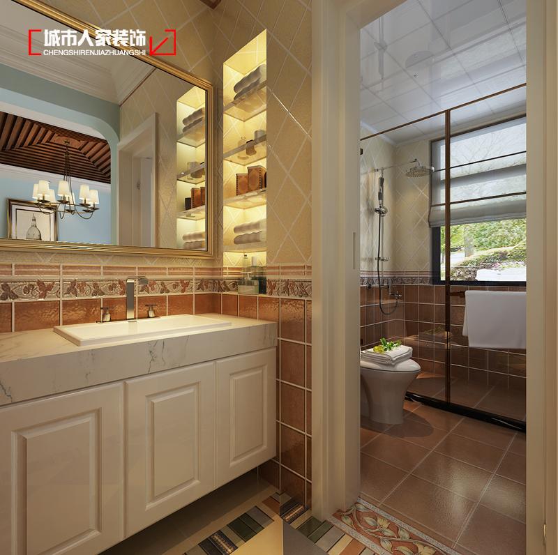 卫生间图片来自太原城市人家原卯午在天泰玉泽园140平米现代简约设计的分享