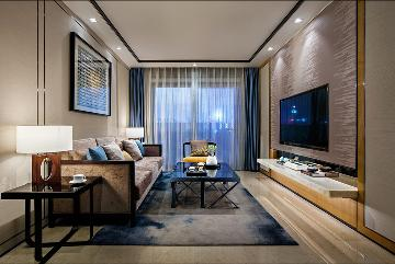 洪德成设计-深圳前海东岸样板房5