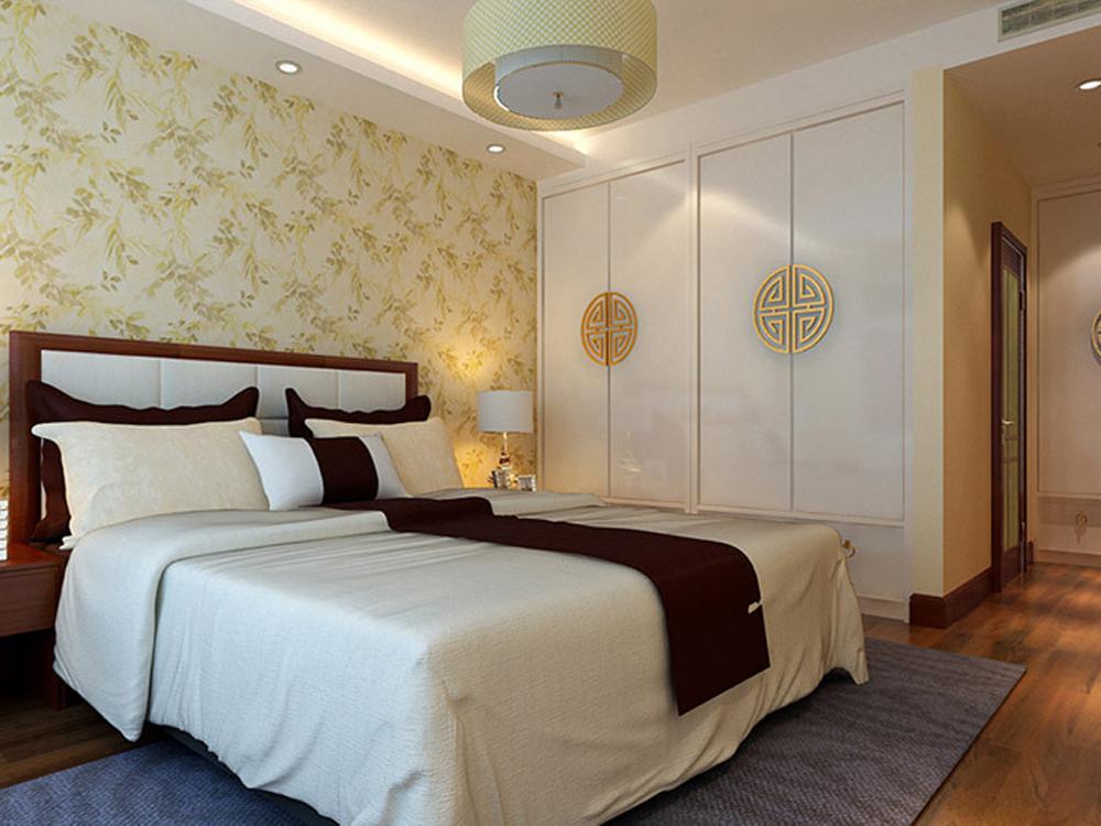 三居 白领 卧室图片来自tjsczs88在古色古香的新中式住宅的分享