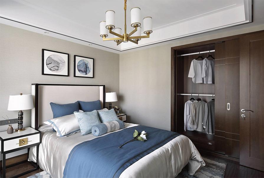 简约 三居 白领 小资 卧室图片来自创之鸿在【创之鸿装饰】金领花园的分享