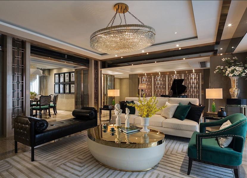 简约 混搭 四居室 新古典 收纳 80后 小资 客厅图片来自乐粉_20170523094252350在东方符号时尚的生活的分享