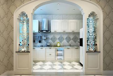 92㎡ 欧式风格两居室设计
