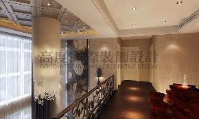 欧式 三居 别墅 80后 小资 楼梯图片来自天津高度国际小静在福缇山昆兰苑~欧式古典主义的分享