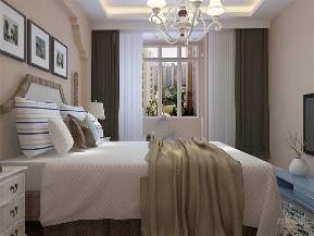 地中海 二居 白领 小资 卧室图片来自阳光力天装饰在力天装饰-中信公园城-88㎡-的分享