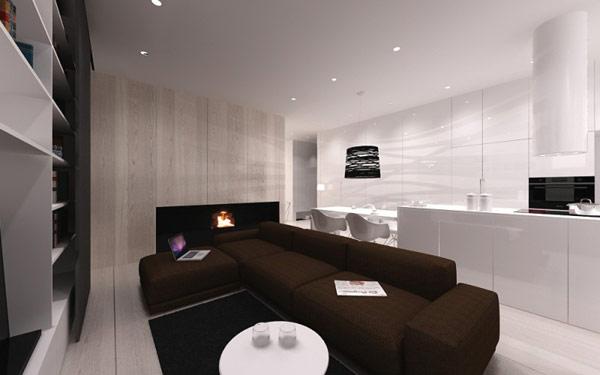 简约 二居 小资 客厅图片来自别墅设计师杨洋在极简主义的灵感设计的分享