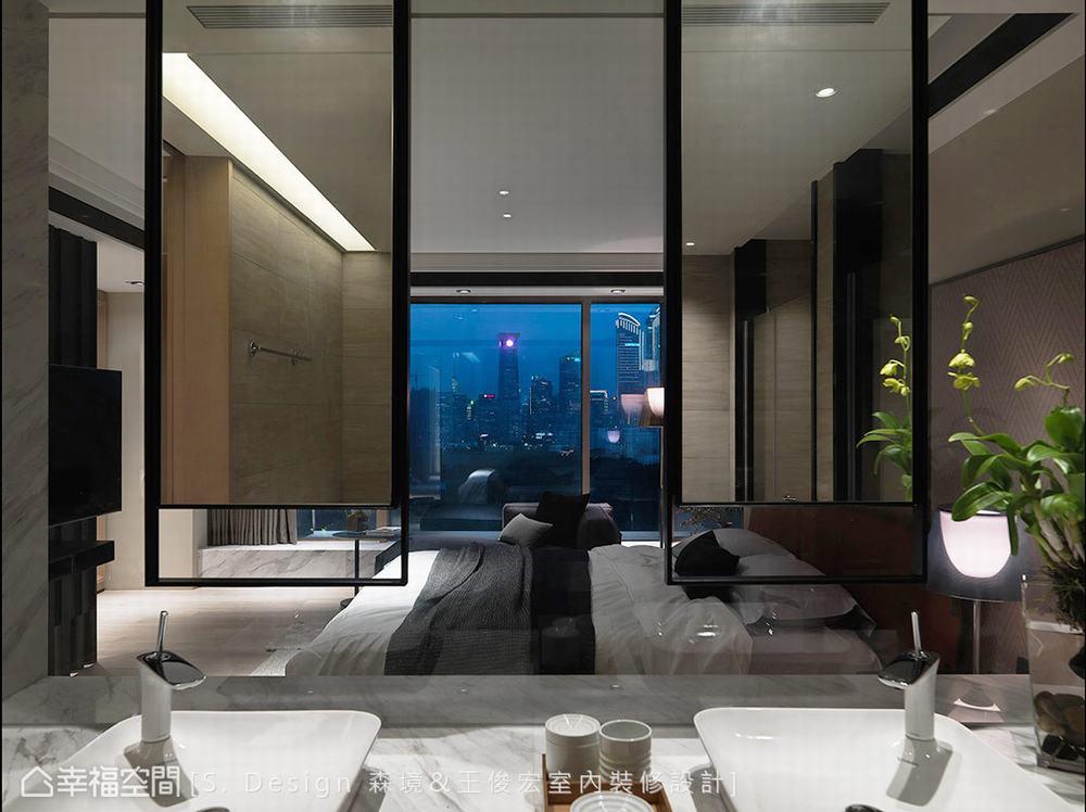 四居 大户型 现代 卫生间图片来自幸福空间在福田旅居 231平敞心驿站的分享