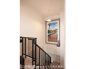 跃层 新古典 四居 楼梯图片来自幸福空间在音符飘扬 215平现代古典况味的分享