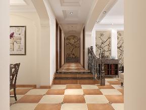 美式 三居 白领 收纳 80后 小资 楼梯 楼梯图片来自石家庄大业美家装饰在160平米-北部时光美式风格的分享