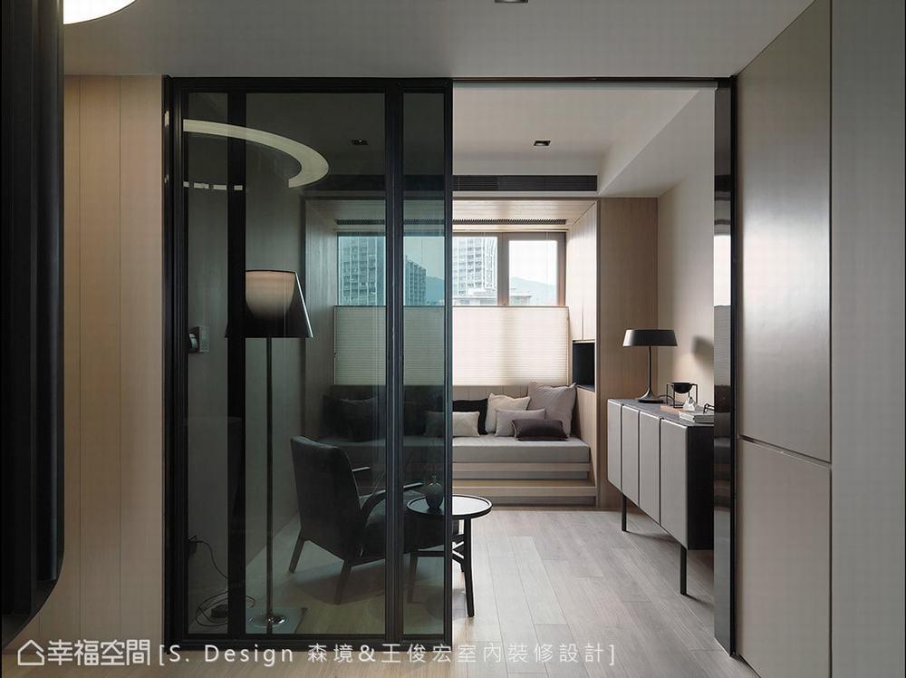 四居 大户型 现代 书房图片来自幸福空间在福田旅居 231平敞心驿站的分享