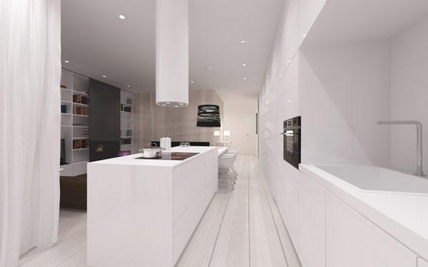 简约 二居 小资 厨房图片来自别墅设计师杨洋在极简主义的灵感设计的分享