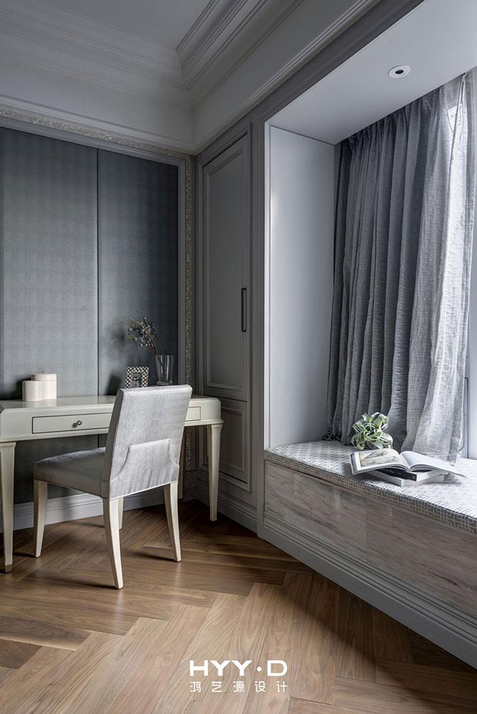 简美风格 平层 卧室图片来自郑鸿在蕙心瑾韵--深圳Loft公馆室内设计的分享
