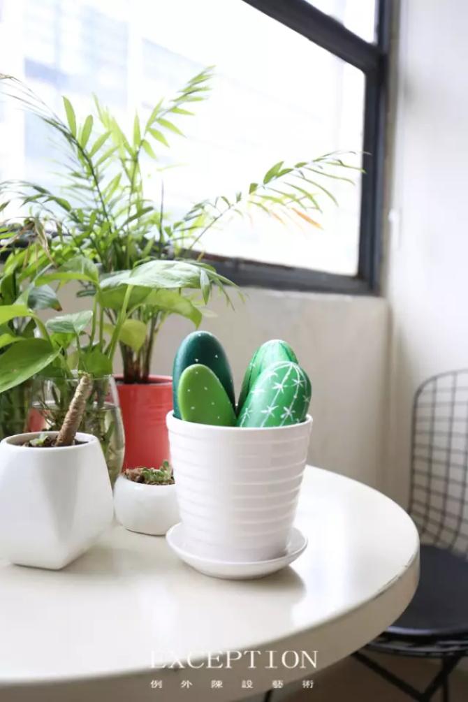 """室内设计 软装设计 深圳设计 例外软装 例外设计 家具搭配 室内设计师 软装设计师图片来自例外软装设计在她的盆栽竟然可以""""养""""得这么美的分享"""