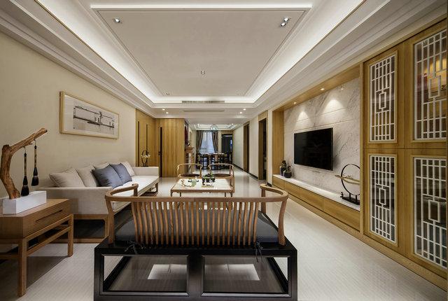 简约 三居 小资 新中式 禅意 客厅图片来自游小华在新中式---禅意《清风韵》的分享