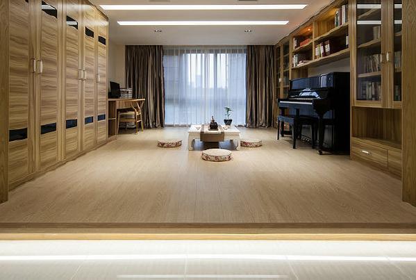 榻榻米的书房设计