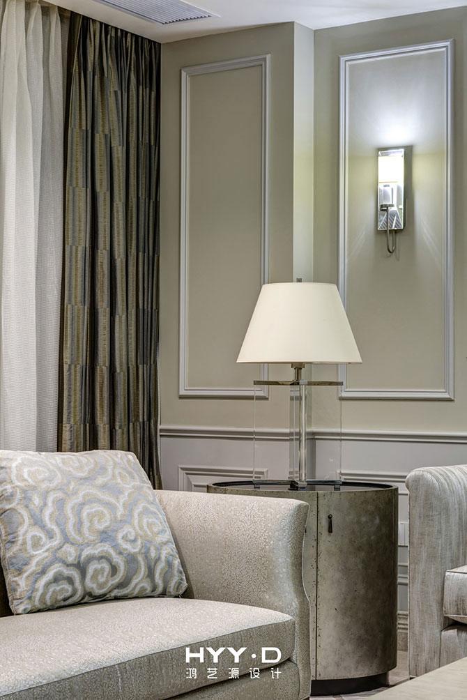简美风格 平层 客厅图片来自郑鸿在蕙心瑾韵--深圳Loft公馆室内设计的分享