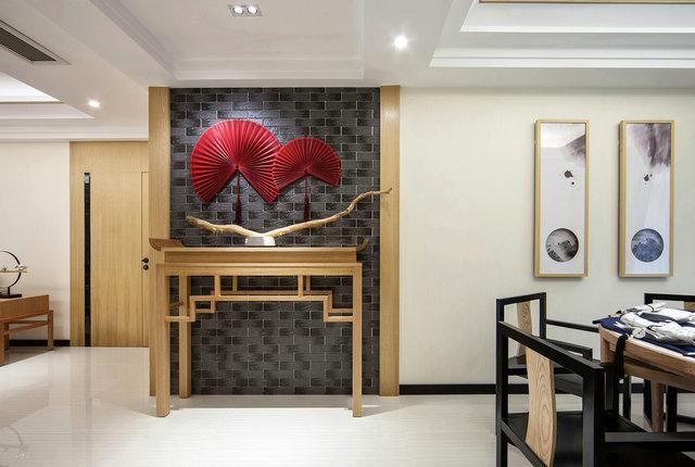 简约 三居 小资 新中式 玄关 玄关图片来自游小华在新中式---禅意《清风韵》的分享