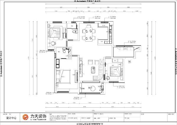 客餐厅简介:在玄关过渡之后有较大的私密性,客厅在里处,采光充足,有一个用于通风的阳台;餐厅在另一侧,且正对着厨房,整体上较为便利。在全部的空间中,留出了较大的空间可以进行自由活动。
